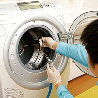 洗濯機が汚れています