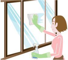 石川県金沢市ダスキン諸江町支店・ガラスクリーニング