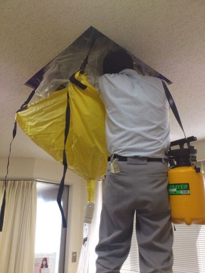 石川県金沢市ダスキン諸江町支店・業務用エアコンクリーニング