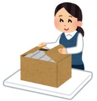 【白山市】箱に製品を詰めるオシゴト★残業ほぼなし(^v^)