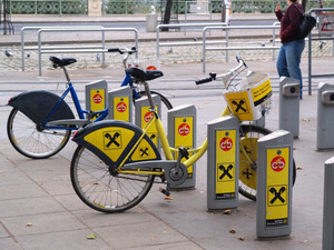 ウィーンのレンタサイクル「シティーバイク」