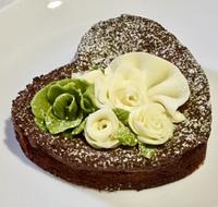 Gateau Chocolat de roses