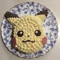 キャラケーキ/pikachu face 3D