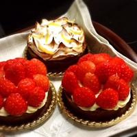 Tartelette de fraises/Tartelette de citron