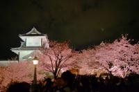 金沢城と皆既月食 2015 4 4