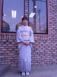 入学式のお母様