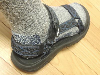 山道具靴下
