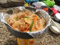 山めし:豚キムチ~手間なし・簡単・おいしい山めしレシピ