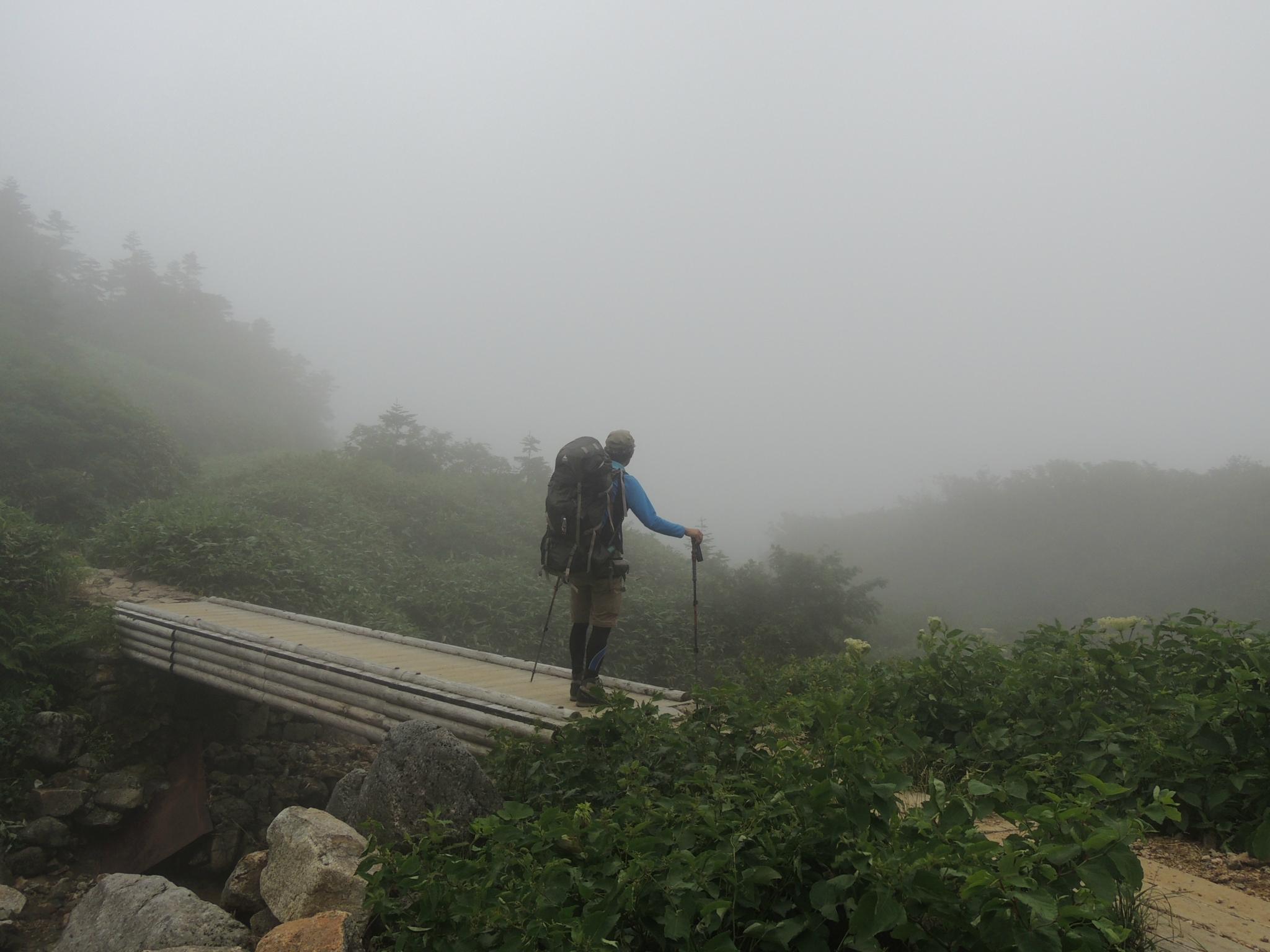 白山テント泊