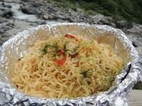 山めし:タイカレー焼きそば~手間なし・簡単・おいしい山めしレシピ