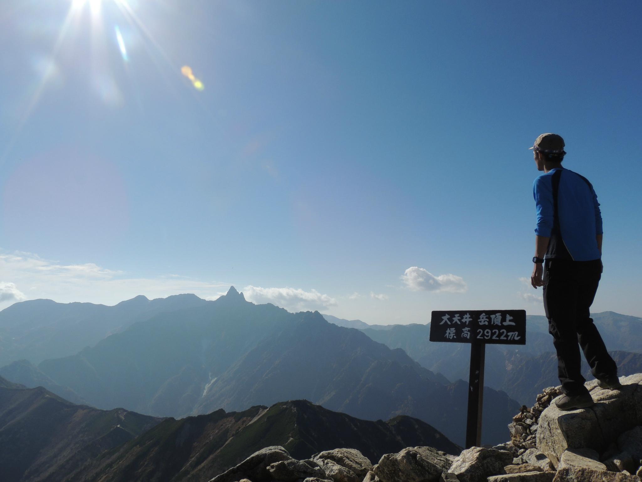 燕岳テント泊